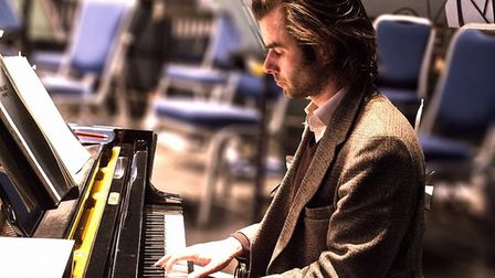 Pianist WIll Ferguson will perform at Aylsham's parish church as part of an Ensemble East performanc