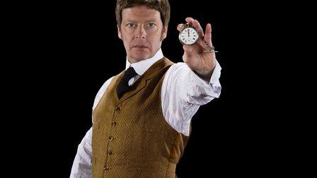 Stephen Cunningham stars in The Time Machine, which will be performend at Gresham School's Auden The