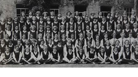 1952 school photo of North Walsham High School for Girls. Can you spot anyone you know? Picture: sup