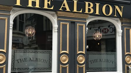 The Albion pub in Cromer has reopened after a makeover. Pictures: Victoria Pertusa