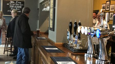 The Albion pub in Cromer has re-opened after a makeover. Pictures: Victoria Pertusa