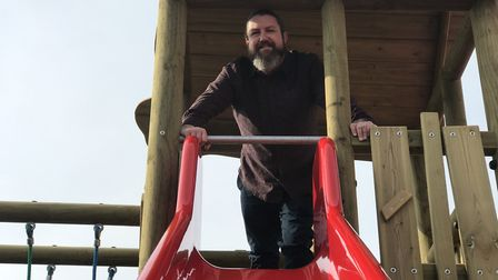 Chris Carr, Director of Operations at Rossi's Leisure has invested in a new outdoor play area at JR'