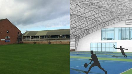 Plans for a new £3.3m sports hub in north Norfolk have prompted a mixed response among club members.