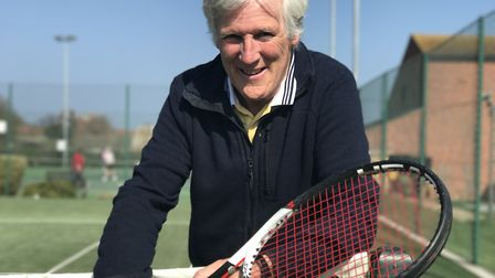Kelvin van Hasselt, the new chairman at Cromer Lawn Tennis and Squash Association. Picture: Neil Did