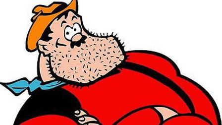 Desperate Dan from The Dandy. Image: DC THOMSON