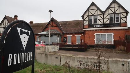 The site of the former Bouncers nightclub, next to Cromer Railway Station. Picture: STUART ANDERSON