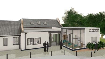 The £4.15m North Norfolk Macmillan Centre will be built at Cromer Hospital on the site of the former