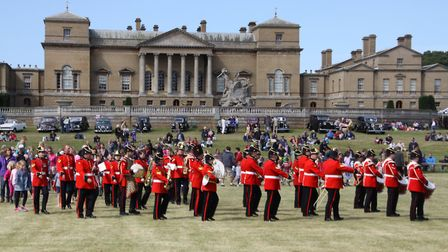 There will be plenty of entertainment (including a marching band) in the grand ring at this year's H