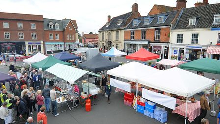 Aylsham has been named one of the best places to live in the UK by The Sunday Times. Photo: Antony K