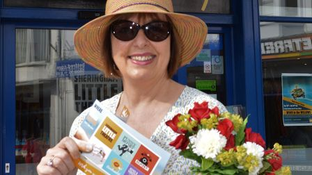 Getting into summer mode - Sheringham Little Theatre director Debbie Thompson with the new July to D