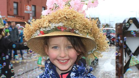 Sheringham Easter bonnet parade, which sets off from Otterndorf Green at 3pm on Saturday.Photo: KARE