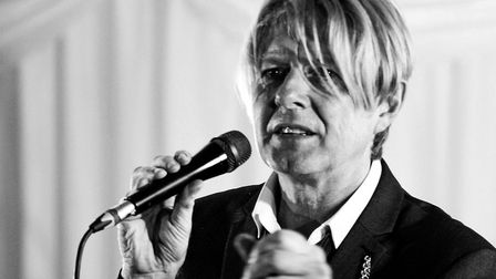 Tribute act Pop-Up Bowie will be performing at the Auden Theatre in Holt next month. Pictured, Paul