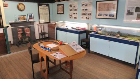 The new Lost Railway of the Broads exhibition at the Museum of the Broads. Picture: MUSEUM OF THE BR