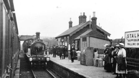 Stalham Railway Station on the old Broads railway, Norfolk. Picture: MEMBERS OF THE M&GN CIRCLE