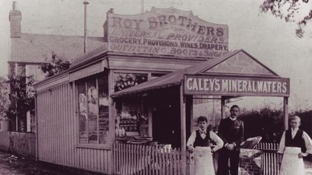 Roys of Wroxham - 1st Hoveton Store @ turn of the century From Archive
