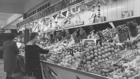 Superstores. Pictured: Roys of Wroxham interior. Date: 1963. Picture: Supplied