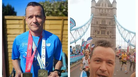 Mearl Brown, the father of a Cromer teenager who took his own life last year, ran the Brighton Marat