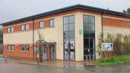 Sheringham community centre, which is due to become the new home of the town council in the summer.P