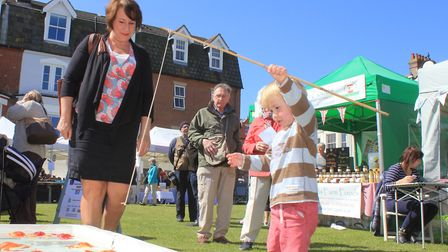 The crab lucky dip at Cromer and Sheringham Crab and Lobster Festival Photo: KAREN BETHELL