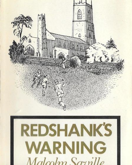 Redshank's Warning book cover 1976. Pictures: Supplied by Joy Tubby