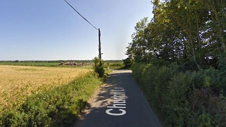 A man died in a fatal collision at Lessingham, near Stalham in north Norfolk. Picture: GOOGLE STREET