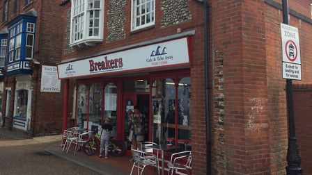 Breakers cafe in Cromer will soon be under new management. Pictures: David Bale