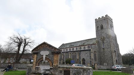 The bells will soon be ringing out again at All Saints Church, Upper Sheringham. Picture: ANTONY KEL