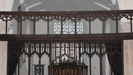 All Saints Church, Upper Sheringham interior. Pictures: Supplied by Sue Morton