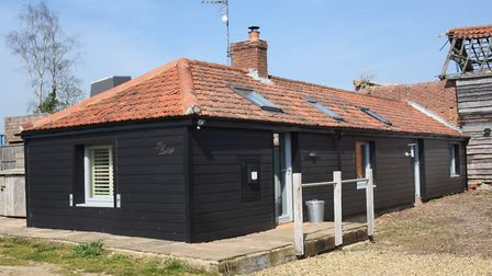 The Lodge at the Top Farm camping and glamping site at Marsham. Picture: DENISE BRADLEY