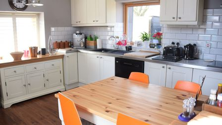 Inside the Lodge at the Top Farm camping and glamping site at Marsham. Picture: DENISE BRADLEY