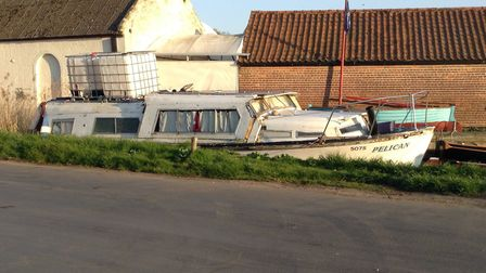 Calls have been made to move on abandoned boats at Stalham Staithe. Pictures: Alan Marshall