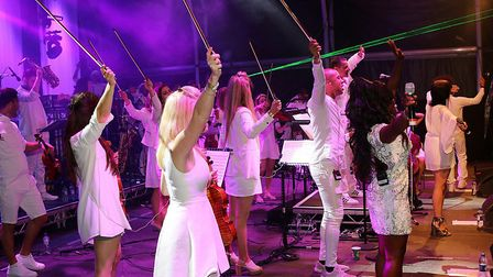 On-stage action at Classic Ibiza. The event is returning to Norfolk's Blickling Estate on Friday, Au