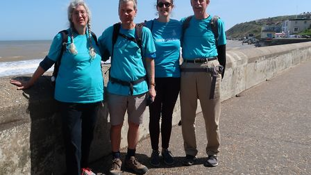 Laurence Carter has been joined by friends on his journey around the UK and raised almost £60,000 so