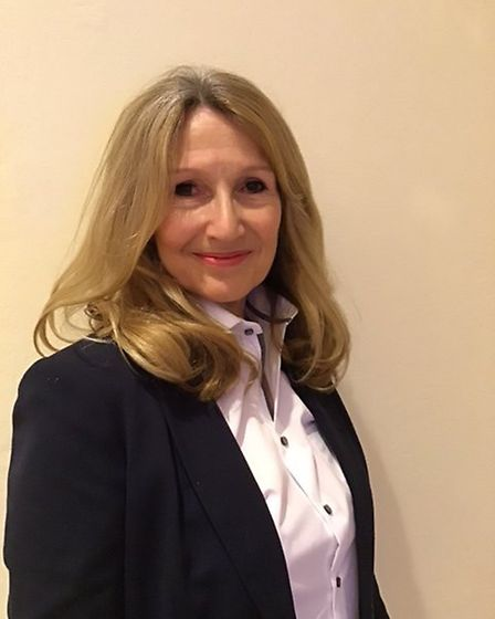 Fiona Turner, Conservative candidate for North Walsham Market Cross in the 2019 North Norfolk Distri