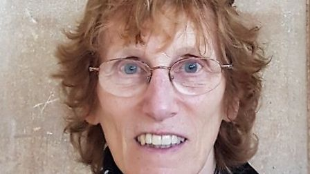 Barbara Wyvill, Green candidate for Stibbard in the 2019 North Norfolk District Council election. Pi