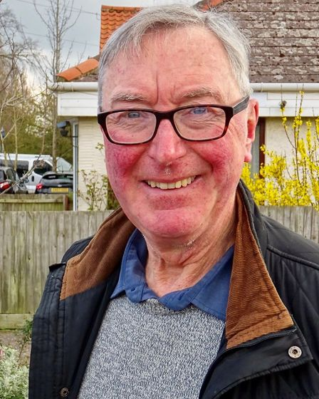 Robert Stevens, Conservative candidate for Stalham at the North Norfolk District Council election in