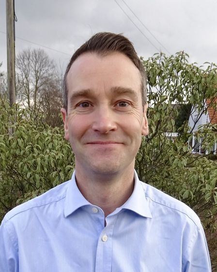 Joe Payne, Conservative candidate for Stalham in the 2019 North Norfolk District Council election. P