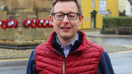 Duncan Baker, Conservative candidate for Holt at the North Norfolk District Council election in May