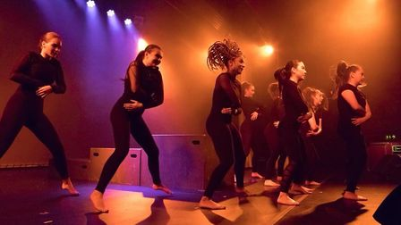 Performances during the Marlene School of Dance charity show for mental health on Cromer Pier. Photo
