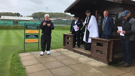 Cromer Lawn Tennis and Squash Association (CLTSA) celebrated the opening of their grass courts for t