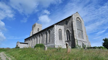 St Nicholas' Church, Salthouse, is the location for the village's new history centre. Picture : ANTO
