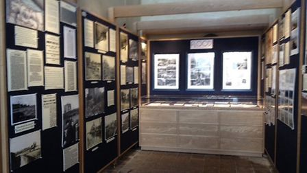 The first exhibition at the new Salthouse history centre is on tidal surges. Pictures: Supplied by K