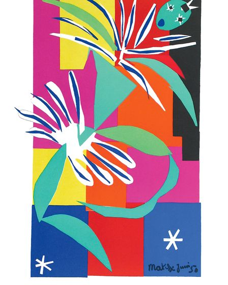Danseuse Créole, a print by the artist Henri Matisse , which will be part of an exhibition at the Ca