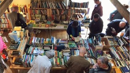 Morston book sale is back for the 10th and last time. Picture: Morston book sale