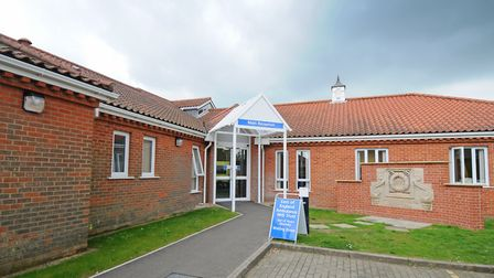 The North Walsham and District War Memorial Hospital, where parking charges for staff will be traill