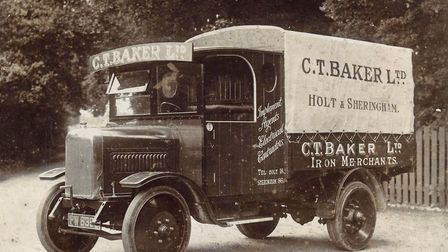 C T Baker truck. Photo: C T Baker Group