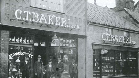 C T Baker Ltd - Early 1900s, High Street, Sheringham. Photo: C T Baker Group