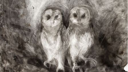 The Owl Sanctuary, by Maria Pavledis, whose latest exhibition was inspired by the plight of unmarrie