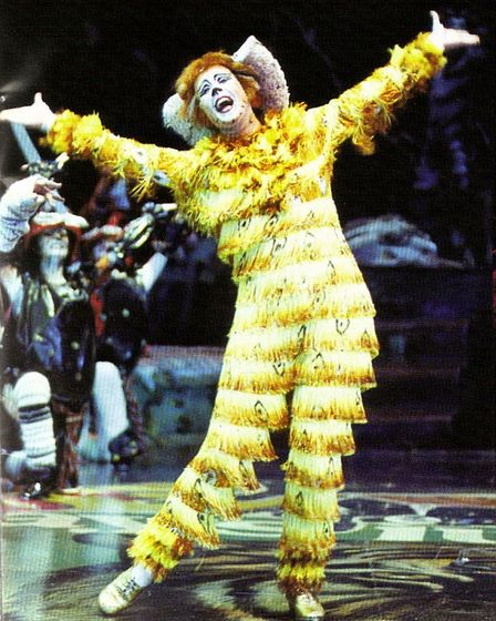 Catherine Terry as Jennyanddots in Cats. Ms Terry is returning to Sheringham for a variety show base
