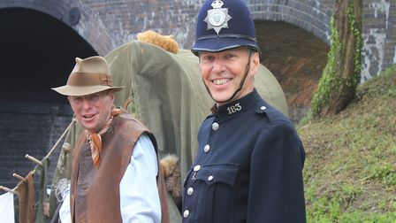 Thetford Dad's Army Museum volunteers in action at last year's Dad's Army Live! event on the North N